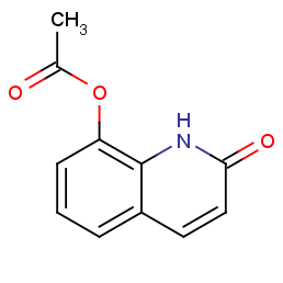 (2-oxo-1h-quinolin-8-yl) Acetate